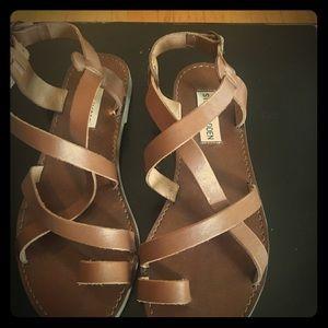 Steve Madden sandals.